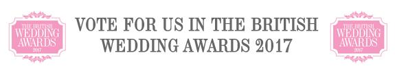 British Wedding Awards 2017 Best Bridal Retailer Category
