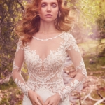 Maggie Sottero Blanche Bodice Close Up
