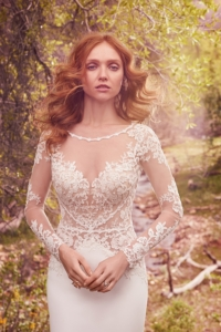 Maggie Sottero Blanche Ivory UK 8