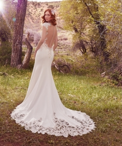 Maggie Sottero Odette Ivory/Nude UK 10 was £1,600 now £850