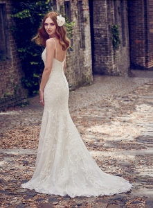 Maggie Sottero Calista Ivory UK 10 was £1,540 now £850