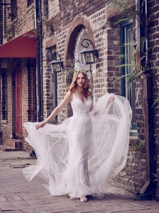 Maggie Sottero Hazel With Option Overskirt
