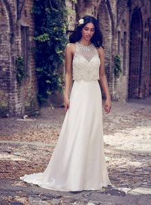 Maggie Sottero Larkin Ivory UK 12 was £1,340 now £700