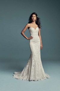 Maggie Sottero Gwendolyn Ivory UK 14 was £2,110 now £1100