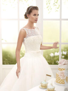 Kira Ivory UK 12 was £1,795 now £850